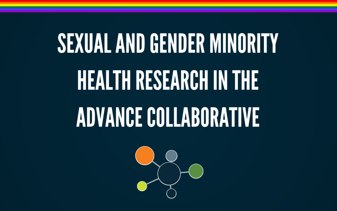 Sexual and Gender Minority Health Research in the ADVANCE Collaborative